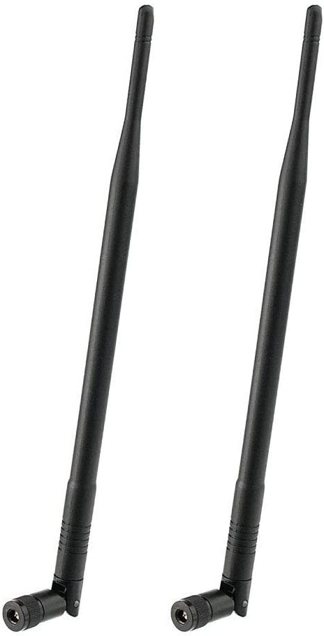 Eightwood 2pcs 5dBi 4G LTE SMA Antenna Compatible with AT&T Verizon Netgear 4G Router Wireless Home Phone Cellular Trail Cameras
