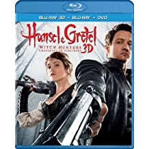 Hansel & Gretel: Witch Hunters, Unrated Cut (Blu-ray 3D / Blu-ray / DVD / Digital Copy + UltraViolet) by Paramount