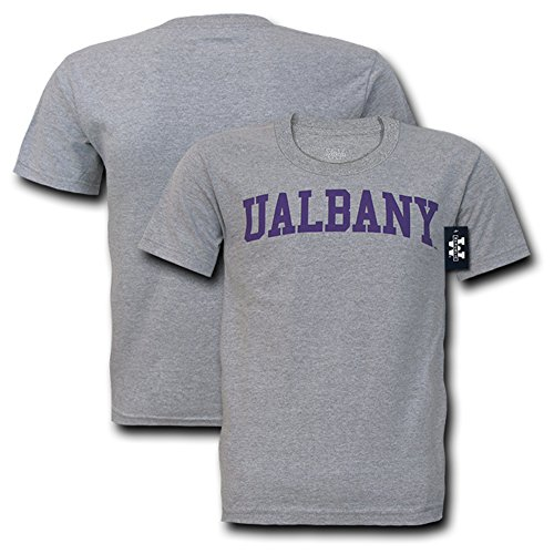 NCAA Men's Game Day Tee Univ at Albany (HG, Medium)