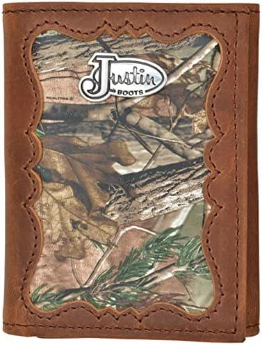 Justin Camo Western Trifold Wallet