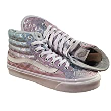 Vans SK8-HI SLIM (RAINBOW GEO) mens fashion-sneakers VN-A32R2