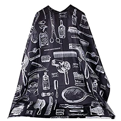 Vovotrade Pro Cutting Hair Waterproof Cloth Salon Barber Gown Cape Hairdressing Hairdresser