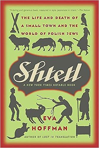 Shtetl eva hoffman 9781586485245 amazon books shtetl fandeluxe Gallery