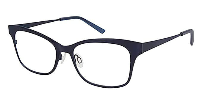 401f31988472 Image Unavailable. Image not available for. Color  Isaac Mizrahi  Prescription Eyeglasses - IM 30016 NV Navy Blue (52-17-135