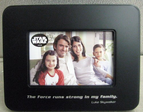 hallmark star wars shp2018 the force runs strong photo frame 4 x 6