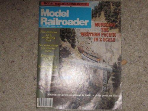 Model Railroader February 1986 Single Issue