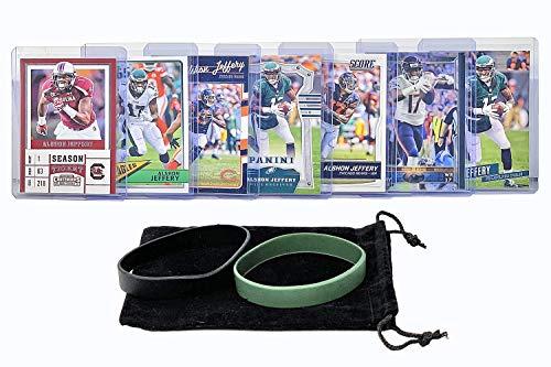 Alshon Jeffery Football Cards (7) Assorted Bundle - Philadelphia Eagles Trading Card Gift Set