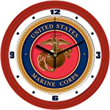 SunTime NCAA US Marines Dimension Wall Clockwall Clock
