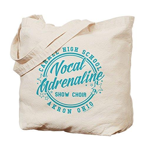 CafePress Glee–Vocal adrenalina–Gamuza de bolsa de lona bolsa, bolsa de la compra