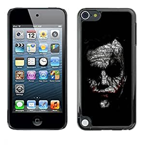Impact Case Cover with Art Pattern Designs FOR Apple iPod Touch 5 Joker Face Betty shop