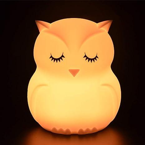 OWL morbidi giocattolo Novità a Led