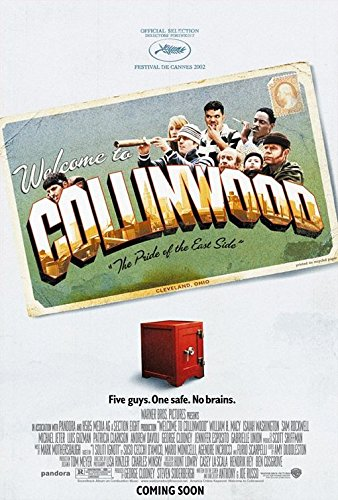 WELCOME TO COLLINWOOD Original Movie Poster - 27x40 - Double-Sided - William H Macy - Isaiah Washington - Sam Rockwell - Michael - Macy's Washington