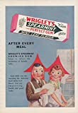Best The Jumping Frog Meals - After every meal Wrigley's Spearmint Gum ad 1930 Review