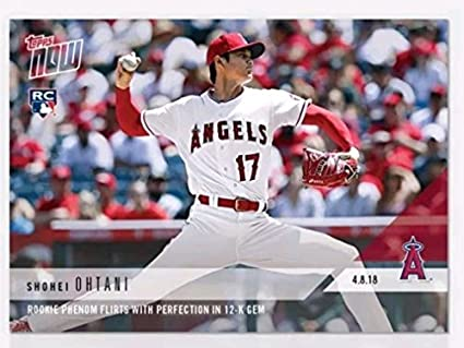 cd891bdb9ae SHOHEI OHTANI Topps Now LA Angels Rookie Card at Amazon s Sports ...