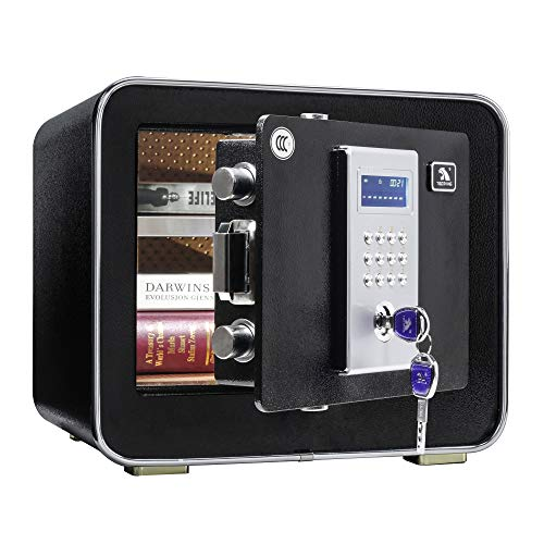 Tigerking Digital Safe Box, Safe for Home, Security Safe -0.85 Cubic Feet