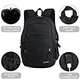 "KEYNEW Classic Canvas 15.6"" Laptop Backpack with"