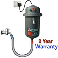 Acco Portable Instant Hot Water Geyser with 2 Year Warranty