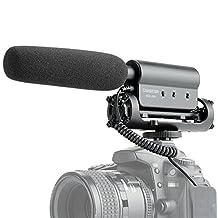 TAKSTAR SGC-598 Interview MC Microphone for Canon Nikon DSLR Cameras,eg Nikon D5200 D5300 D5000 D5100 D5500 D7200 D7000 D3300 D3200 D3000.