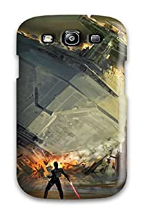 Hot Style YESSzMR3924JXJBk Protective YY-ONE For Galaxys3(artistic Swtfu Star Destroyer Force Pull)