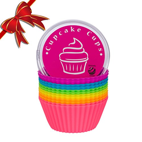 Globally-Good-Silicone-Baking-Cups-Cupcake-Liners-Premium-Reusable-Muffin-Molds