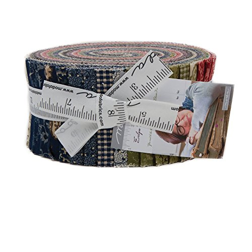 Betsy Chutchian Evelyn's Homestead 1880-1900 Jelly Roll 40 2.5-inch Strips Moda Fabrics 31560JR by MODA