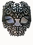 Momentum Brands Black Venetian Skull Mask - Adult Size - Made Of Plastic