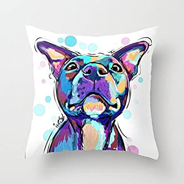 Pit Bull Love Cushion Throw Pillow Cover 26 x 26 In