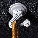 OOK 50330 Jumbo Swag Hook with Hardware, White