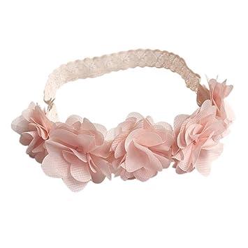 Elegant Baby Newborn Flowers Hairband Infant Girl Headband Photography Prop