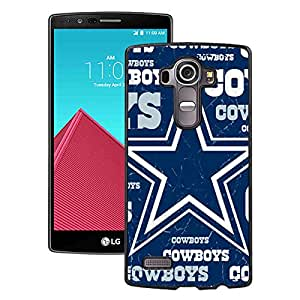 Dallas Cowboys 3 Black Fashionable Design LG G4 Plastic Case