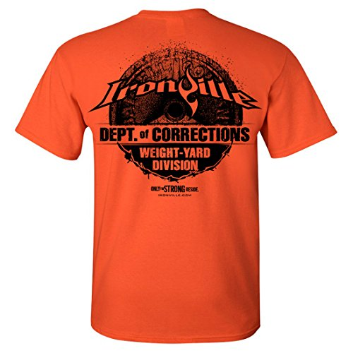 Cheap Ironville Department Of Corrections Weight Yard Division Weightlifting Prison T-Shirt