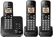 Panasonic KX-TGC363B / KX-TG633SK Dect 6.0 3 Teléfono Fijo (KX-TGC362B +1) (renovado)