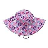 Kyпить i play. Baby-Girls Brim Sun Protection Hat, Lavender Retro Dot, 0-6 Months на Amazon.com
