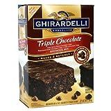 Ghirardelli Triple Chocolate Brownie Mix 2.26 Kg