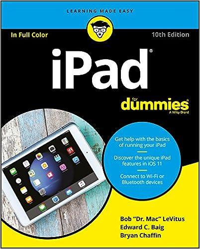 iPad Dummies Dummies ComputerTech