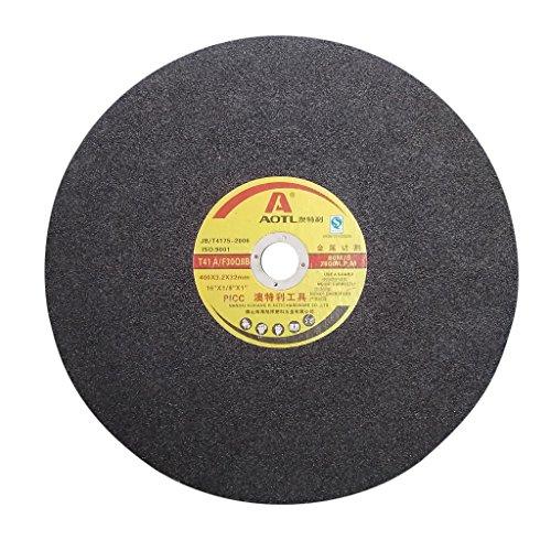 Baoblaze Chop Saw Metal Cut Off Wheel Grinding Circular Miter for Metal 400x3.2x32mm