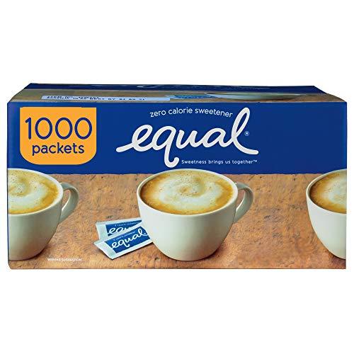 EQUAL 0 Calorie Sweetener, Sugar Substitute, Zero Calorie ...