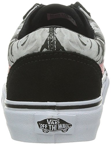 Vans U Old School (2 Tone), Baskets mode mixte adulte Noir