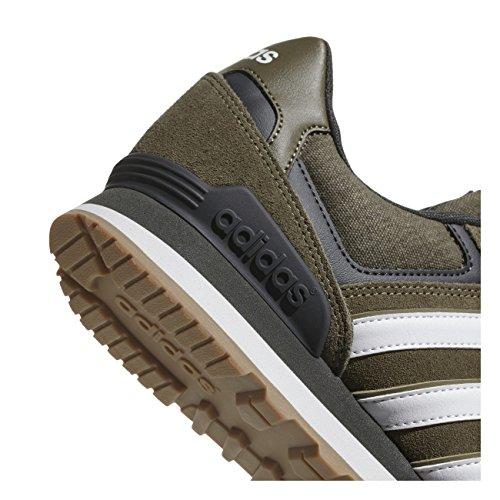 Adidas Herren 10k Gymnastikschuhe Mehrfarbig (carico Scuro F14-st / Cristallo Bianco S16 / Carico S14 Carico Scuro F14-st / Cristallo Bianco S16 / Carico S14)