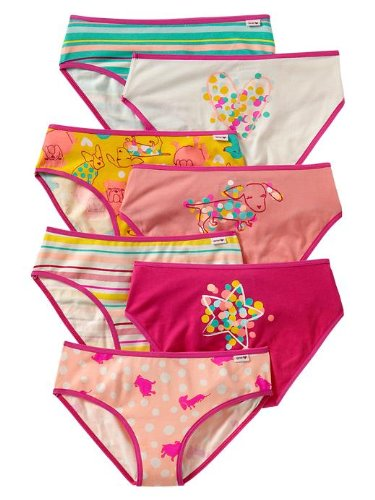 Gap Patterned Dog Bikini 7 Pack