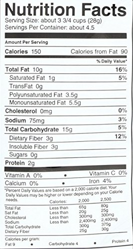 SKINNYPOP Original Popped Popcorn, Individual Bags, Gluten Free Popcorn, Non-GMO, No Artificial Ingredients, A Delicious Source of Fiber, 4.4 Ounce (Pack of 12) by SkinnyPop (Image #3)