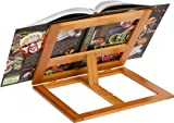 Cookbook Holder - All Natural Bamboo - By Trademark Innovations