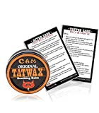 TatWax Tattoo After Care Soothing Balm Tattoo Color Enhancer (Made in USA) … (Pack Of 1)