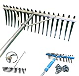 Shore-Tech Industries Super Long/Wide Lake Weed, Beach & Landscaping Rake - (7ft handle - No Float Kit)