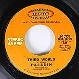 paladin 45 RPM third world / same