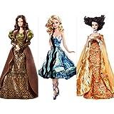 Barbie Collector Museum Collector Doll set of Van Gogh, Klimt, and Da Vinci.