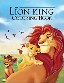 Amazon.com: The Lion King Coloring Book: Coloring Book for Kids and ...