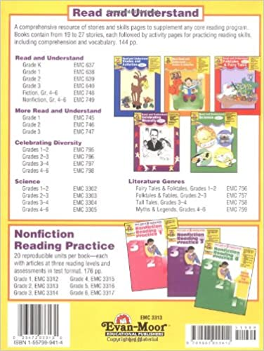 Nonfiction Reading Practice, Grade 2: Evan Moor: 9781557999412 ...