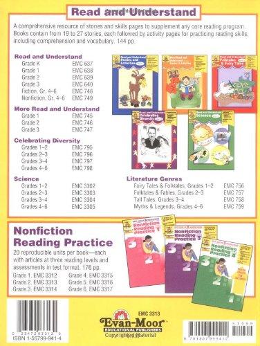 Workbook common core worksheets 4th grade math : Nonfiction Reading Practice, Grade 2: Evan Moor: 9781557999412 ...
