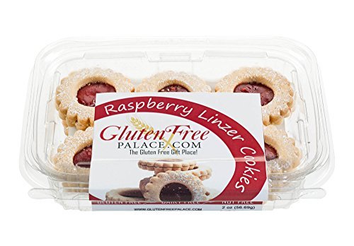 - Gluten Free Palace Linzer Cookies With Raspberry Jam, 6 Oz Pack [2 Pack] Gluten Free Cookies, Dairy Free Cookies, Nut Free Cookies, Kosher Gluten Free Dairy Free Snacks